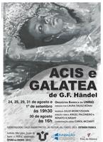 ACIS E GALATEA de G.F. Handel – Projeto de Extensão: Ópera na UNIRIO!