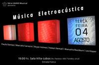 Concerto de Música Eletroacústica na Série UNIRIO Musical