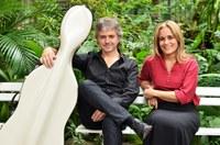 Duo Hugo Pilger - Lucia Barrenechea faz recital de lançamento do livro Heitor Villa-Lobos, o violoncelo e seu idiomatismo na Série UNIRIO MUSICAL