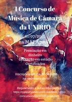 I CONCURSO DE MÚSICA DE CÂMARA DA UNIRIO