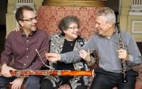 Lançamento do CD do Trio Solter-Justi-Fagerlande na Série Unirio Musical
