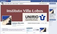 Página do IVL no Facebook atinge 1000 curtidas!