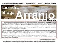 Palestra do arranjador Leandro Braga