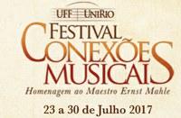 Programação de Concertos e Palestra do Festival Conexões Musicais UFF / UNIRIO no IVL