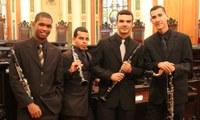 Quarteto de Clarinetas ÔMEGA na Série UNIRIO Musical