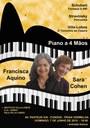 Recital de piano a 4 mãos com Francisca Aquino e Sara Cohen