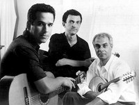 Trio Madeira Brasil se apresenta na sala Villa-Lobos